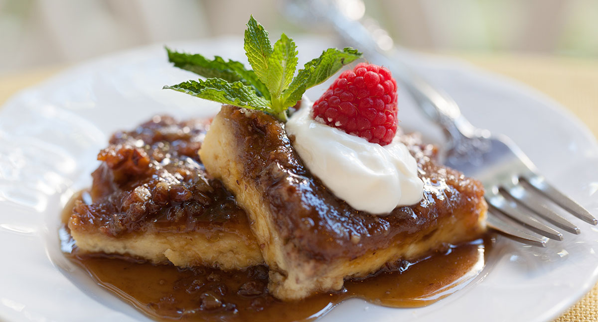 Delicious french toast for breakfast