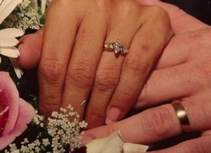 romantic florida getaway baguette ring