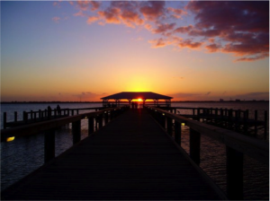 romantic florida getaway beach