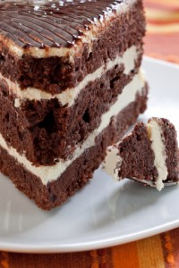 Chocolate Cake at a Florida Bed and Breakfast
