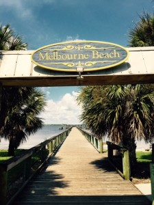 The Pier Overlooking the Indian River