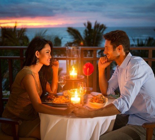 romantic dinners out in Melbourne Beach, FL