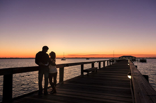 Propose at the pier on your romantic getaway in Florida!