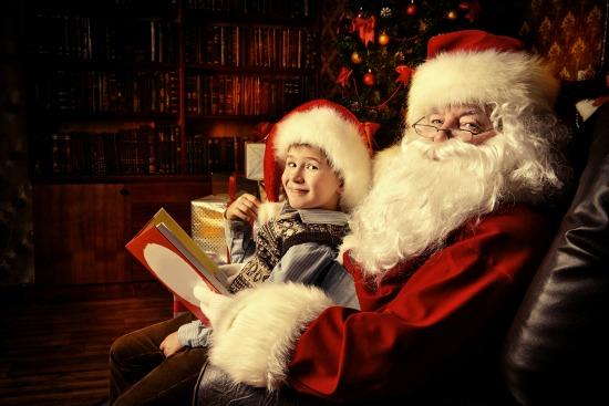 Santa in Melbourne Beach, FL