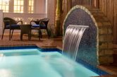 bed and breakfast near Cocoa Beach FL waterfall and pool