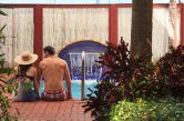 Creole Room pool view