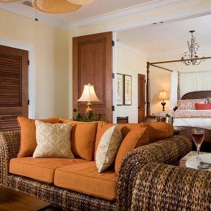Mangrove room sitting area