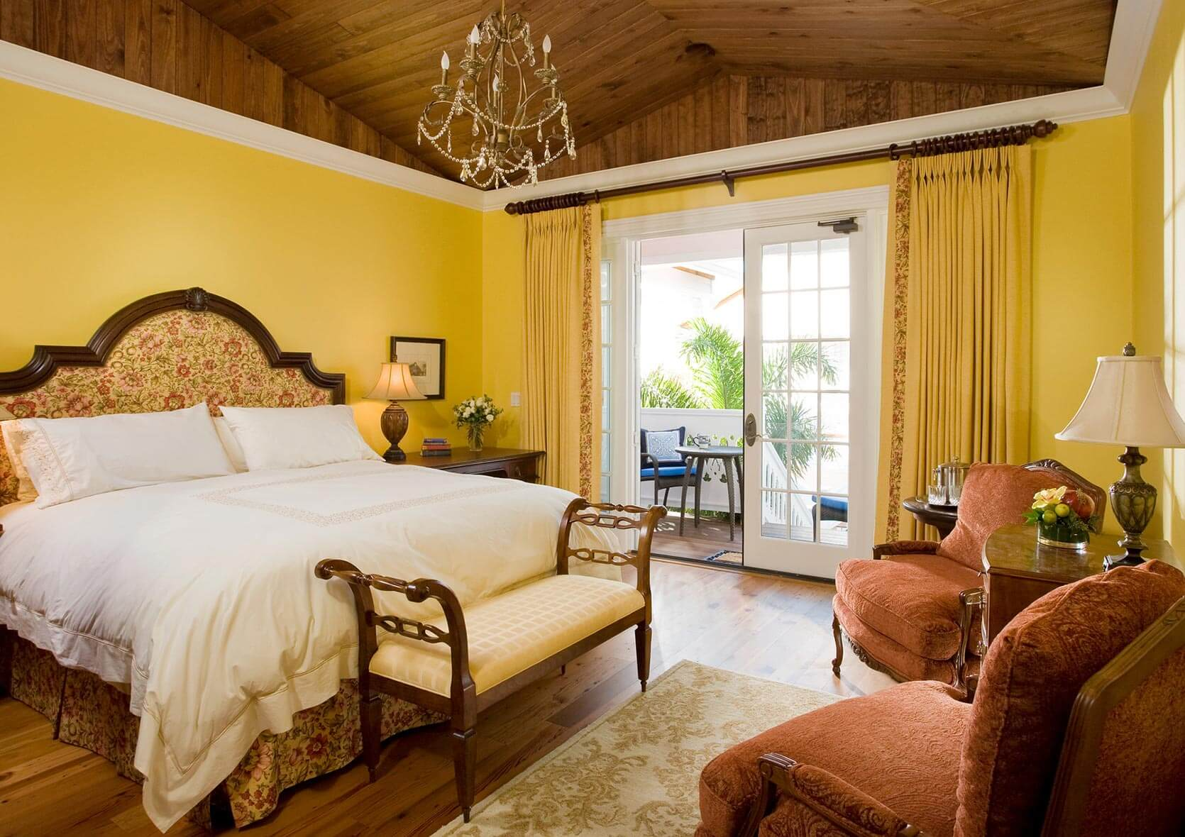Yellow Room at our Melbourne Beach, FL Bed and Breakfast