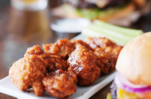 Casual dining - chicken wings