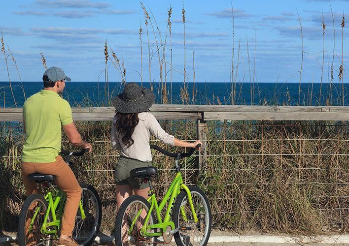 melbourne beach biking