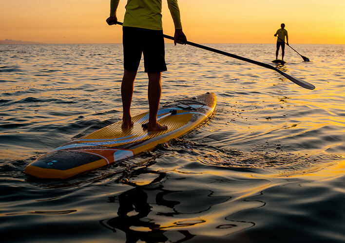 stand up paddle boarding near Port d'Hiver