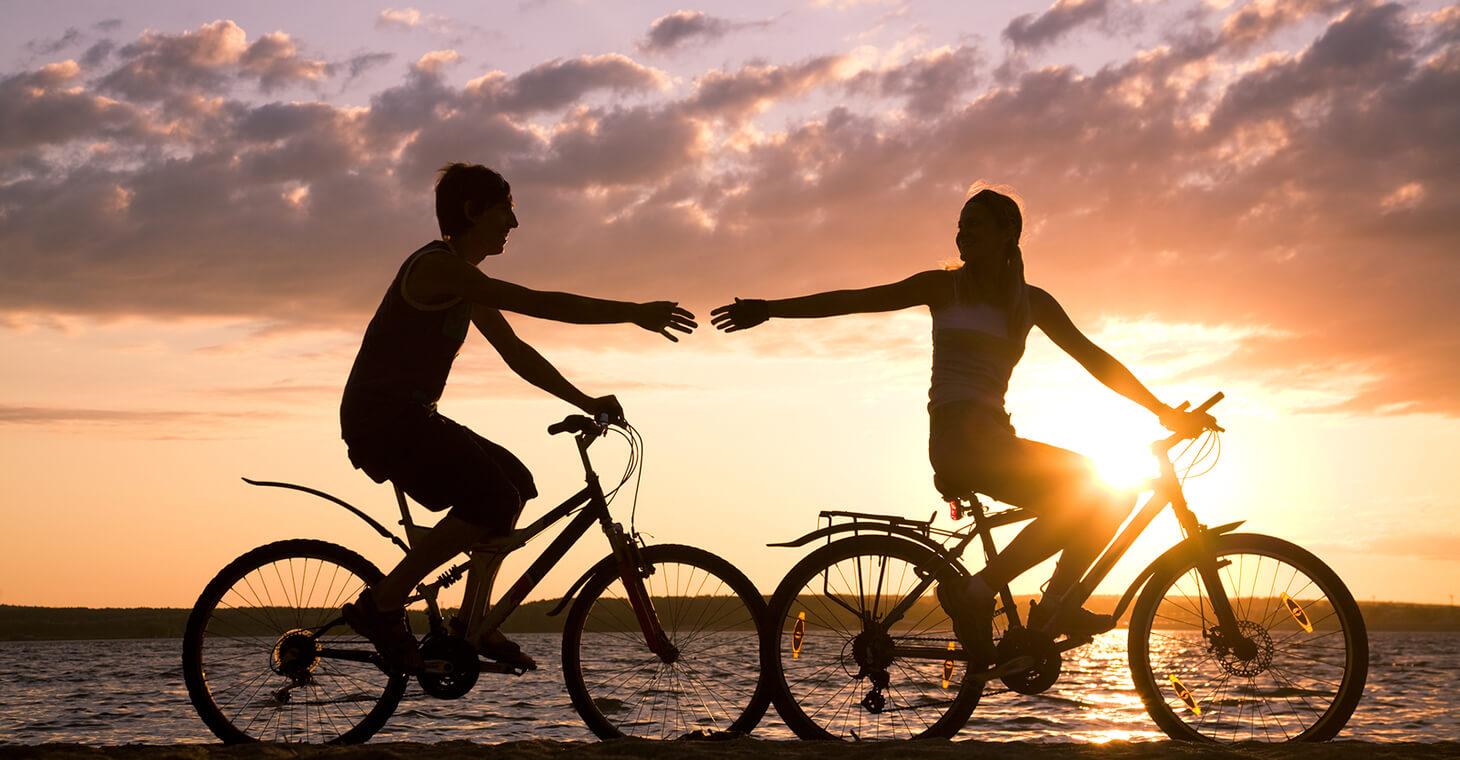 biking near Port d'Hiver