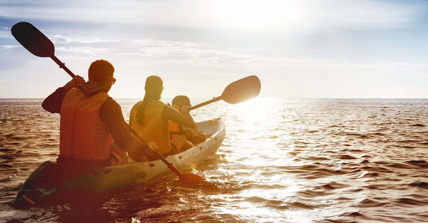 kayaking in melbourne beach