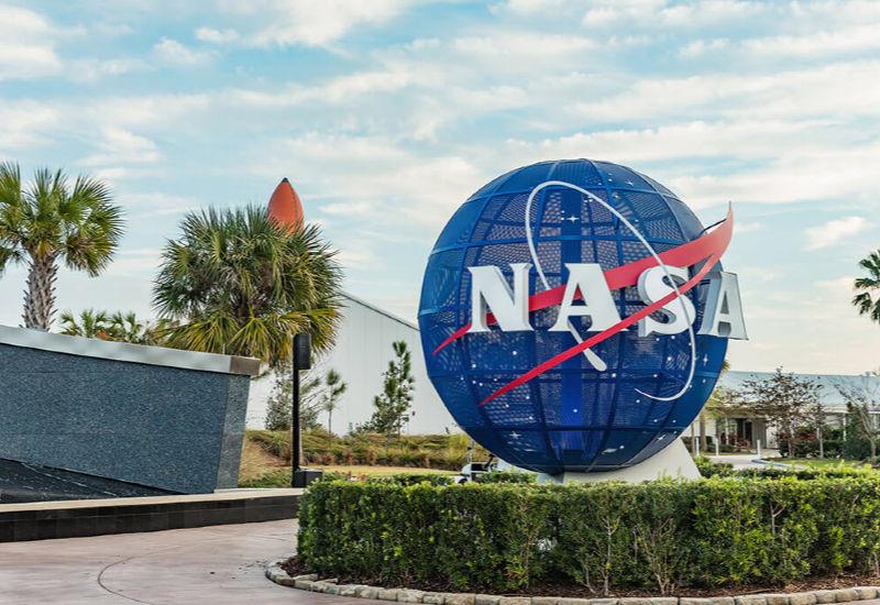 NASA entrance in Florida Space Coast