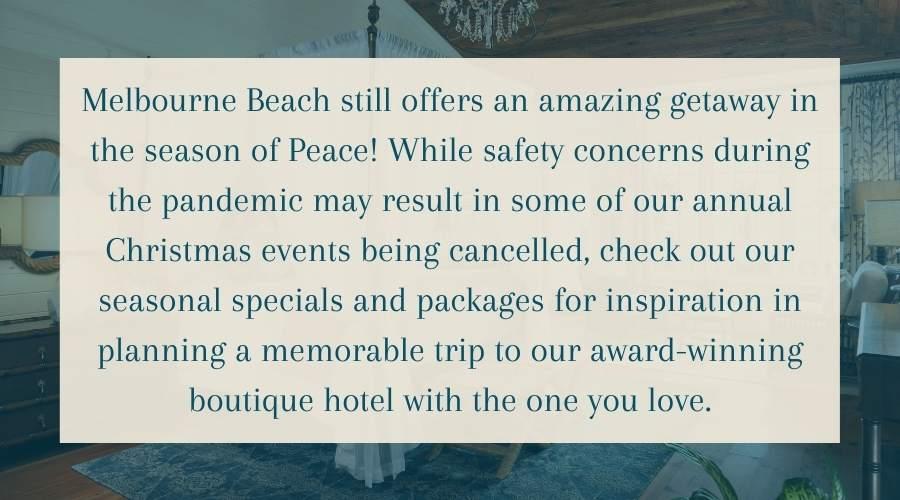 Melbourne Beach Christmas 2020 Update