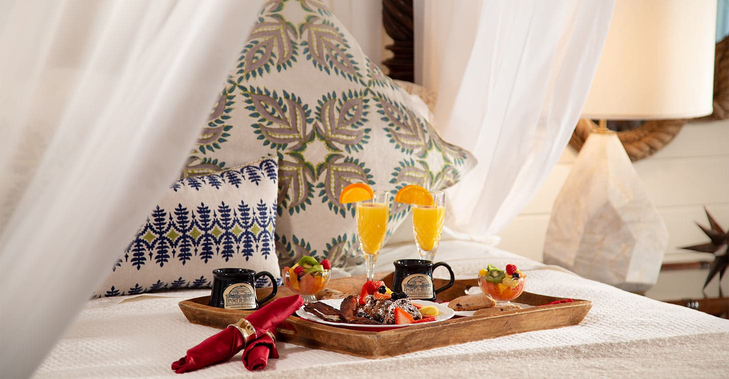 Breakfast in Bed at Melbourne Beach Florida Bed and Breakfast