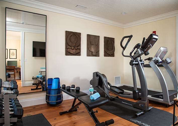 Fitness Center at Boutique Hotel in Florida