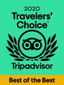 2020 TripAdvisor Travelers' Choice Award Green